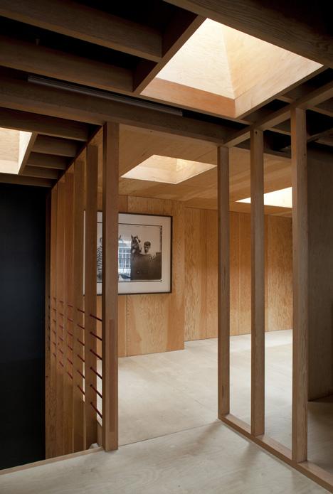 Frame House by Jonathan Tuckey Design