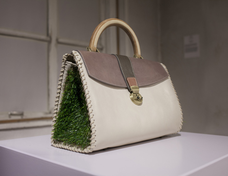 Handbag by Silvia Romanelli at the Future Fashions exhibition