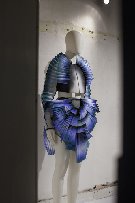 Design by Miriam de Waard at the Future Fashions exhibition