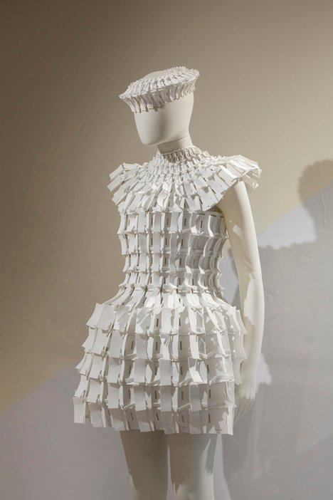 Object 12-1 by Matija Čop at the Future Fashions exhibition
