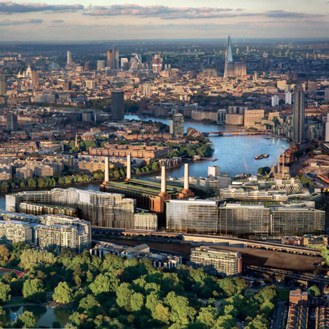 Gehry and Foster team up on Battersea Power Station redevelopment