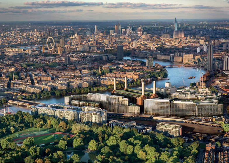 Gehry and Foster to work at Battersea Power Station