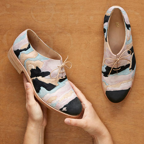 Geology of Shoes by Barbora Vesela