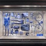 I Have a Lifestyle model-kit window installation by Fabio Novembre for Tommy Hilfiger