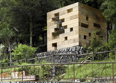 Final Wooden House in Kumamoto, Japan, by Sou Fujimoto