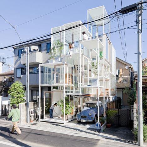 House NA in Tokyo by Sou Fujimoto