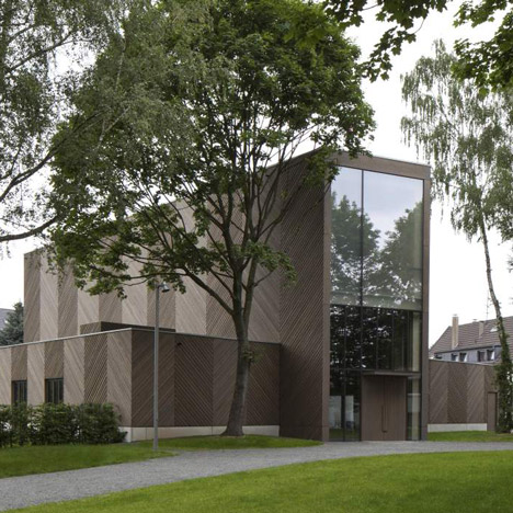 Immanuel Church and Parish Centre by Sauerbruch Hutton