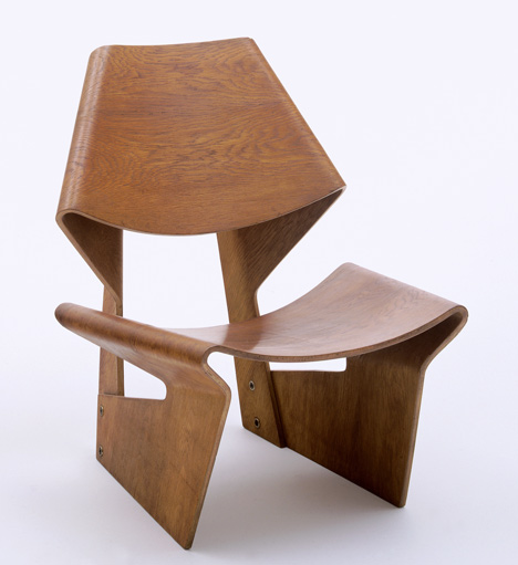 Designing Modern Women 1890–1990 at MoMA Lounge Chair by Grete Jalk 1963_Designing Modern Women at MoMA_dezeen_25