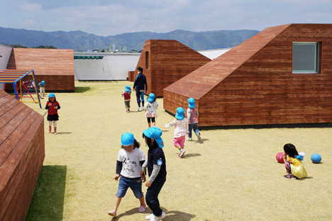 Mukou Leimondo Nursery School by Archivision Hirotani Studio_dezeen_1