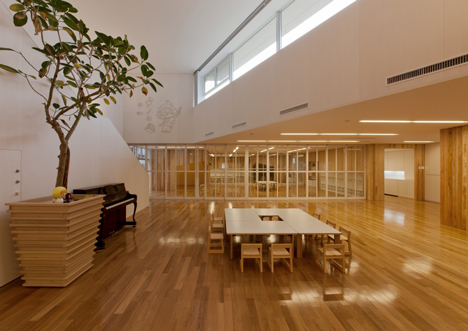 Mukou Leimondo Nursery School by Archivision Hirotani Studio_dezeen_13
