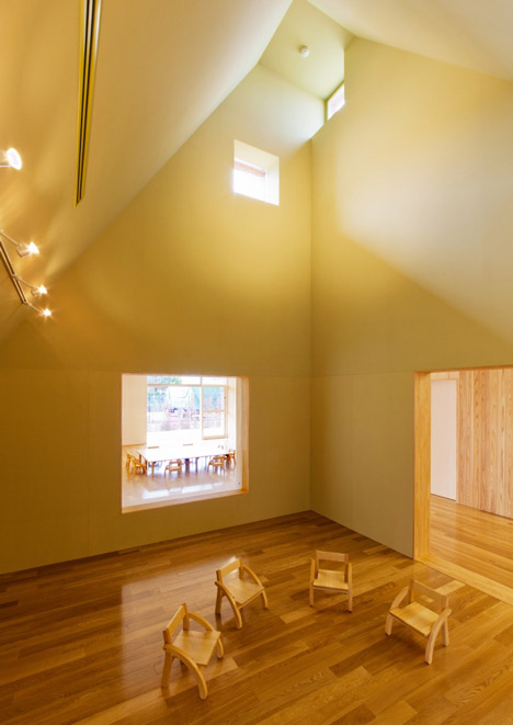 Mukou Leimondo Nursery School by Archivision Hirotani Studio_dezeen_20