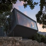 Nesher Memorial auditorium and gallery by SO Architecture