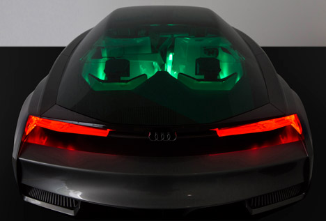 Quattro Fleet Shuttle virtual car by Audi for Ender's Game