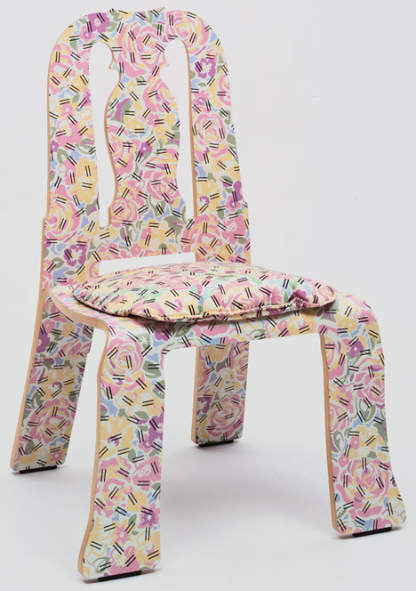 Designing Modern Women 1890–1990 at MoMA Queen Anne Side Chair by Robert Venturi with Denise Scott Brown, 1983_Designing Modern Women at MoMA_dezeen_20