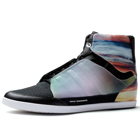 Meaningless Excitement footwear<br /> by Y-3 and Peter Saville