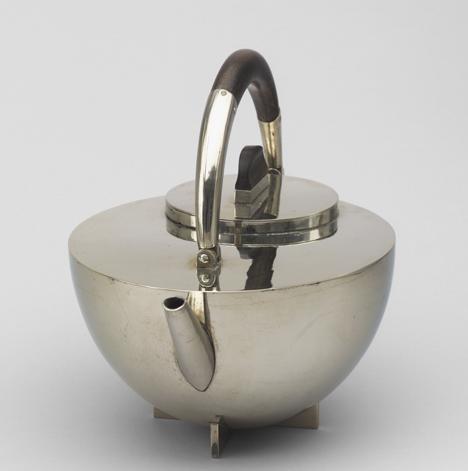 Designing Modern Women 1890–1990 at MoMA Teapot by Marianne Brandt, 1924_Designing Modern Women at MoMA_dezeen_18