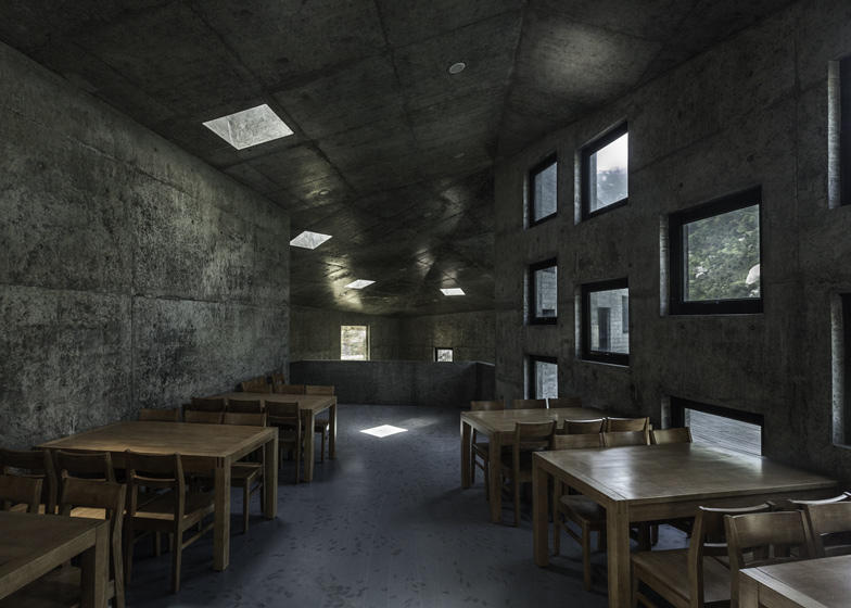 Tianzhoushan Tea House by Archiplein