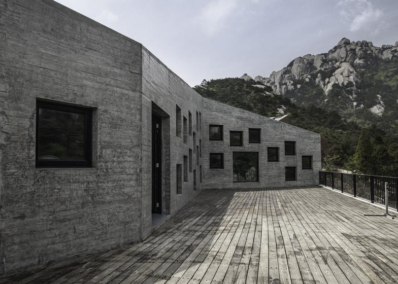 Tianzhoushan Tea House by Archiplein