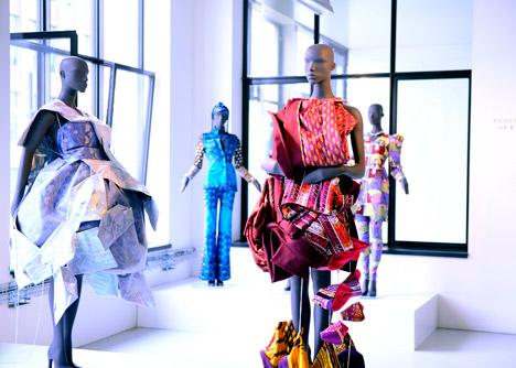 Vlisco Unfolded exhibition at Dutch Design Week 2013