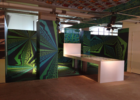 Vlisco Unfolded exhibition at Dutch Design Week 2013