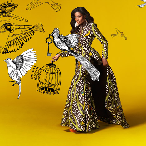 Vlisco Celebrate Winter 2013 collection. Photograph by Dirk Lambrechts