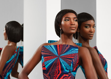 Vlisco Unseen Summer 2013 collection. Photograph by Barrie Hullegie