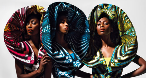 Dazzling Graphics Spring 2011collection. Photograph by Fritz Kok