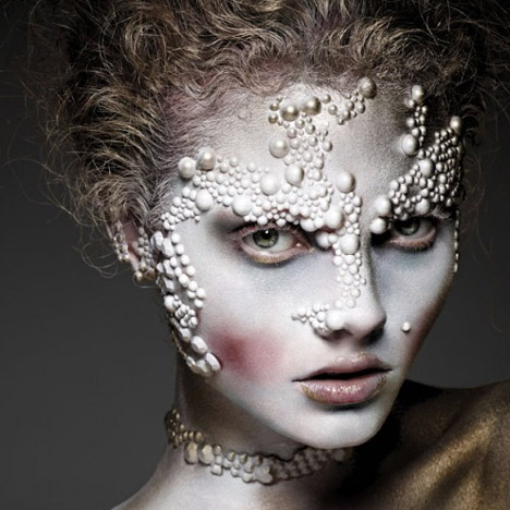 Wearable Futures Makeup by Alex Box