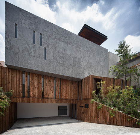 Casa Cumbres house in Mexico City by Taller Hector Barroso