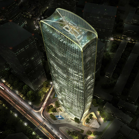 HENN to build 280-metre Chinese skyscraper