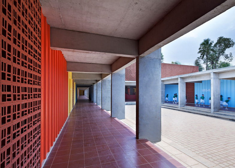 dps kindergarten school by khosla associates