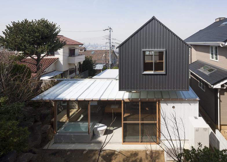 House in Ishikiri by Tato Architects