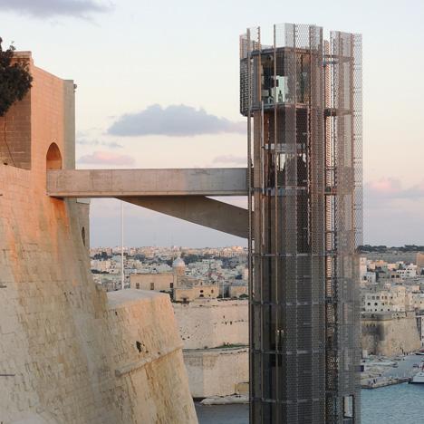 Barrakka Lift by Architecture Project
