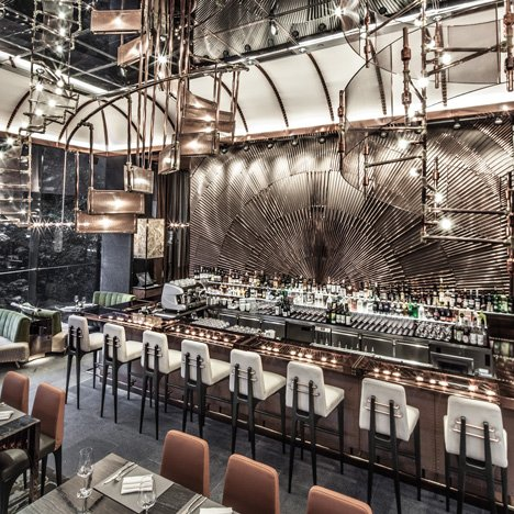 Ammo Bar and Restaurant by WANG