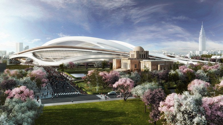 Japanese architects rally against Zaha's 2020 Olympic Stadium