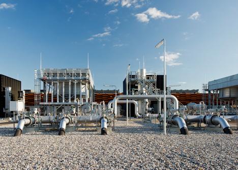 Kompressor Station Egtved by C.F. Moller