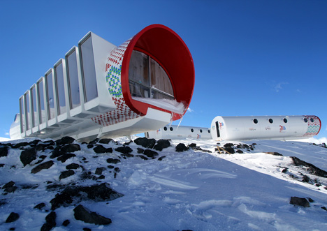 LEAPrus 3912 mountain hotel in Russia by LEAPfactory
