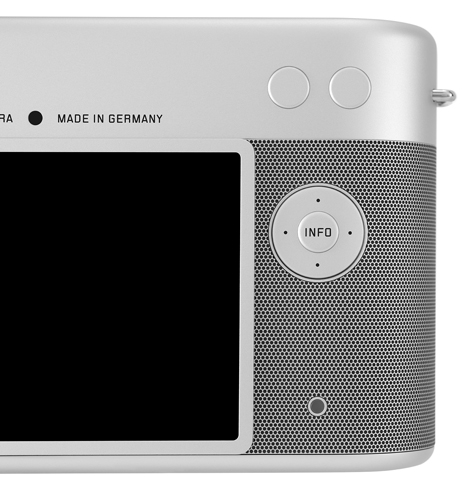 Leica camera by Jonathan Ive and Marc Newson