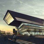 Movie: Library and Learning Centre in Vienna by Zaha Hadid Architects