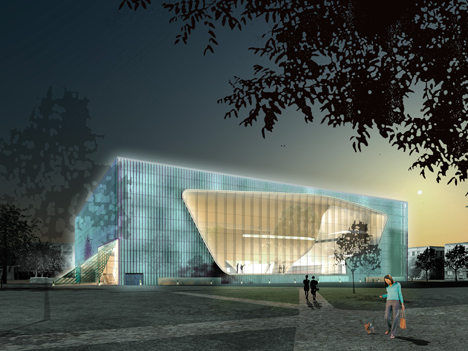 Museum of the History of Polish Jews by Lahdelma & Mahlamäki Architects