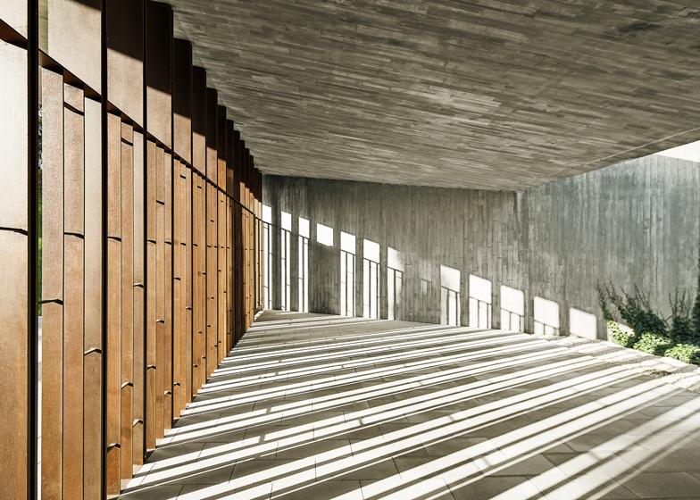 dezeen magazine - Funeral Home Building Design