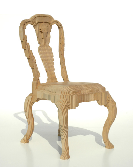 Out of Hand: Materializing the Postdigital at MAD - Clone Chair by Julian Mayor