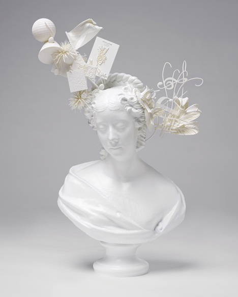 Bust of Lady Belhaven (after Samuel Joseph) by Stephen Jones and Made by .MGX by Materialise