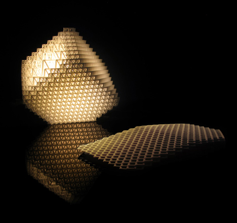 Out of Hand: Materializing the Postdigital at MAD - Volume.MGX Lamp by Dror Benshetrit