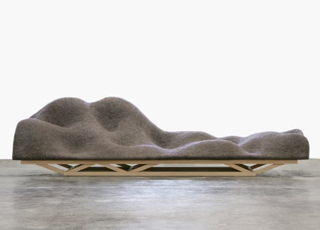 Out of Hand: Materializing the Postdigital at MAD - Brain Wave Sofa by Lucas Maassen and Unfold