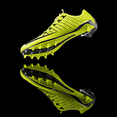 Out of Hand: Materializing the Postdigital at MAD - Nike Vapor Laser Talon 3D-printed football boot