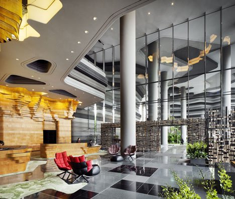 PARKROYAL on Pickering by WOHA, Singapore