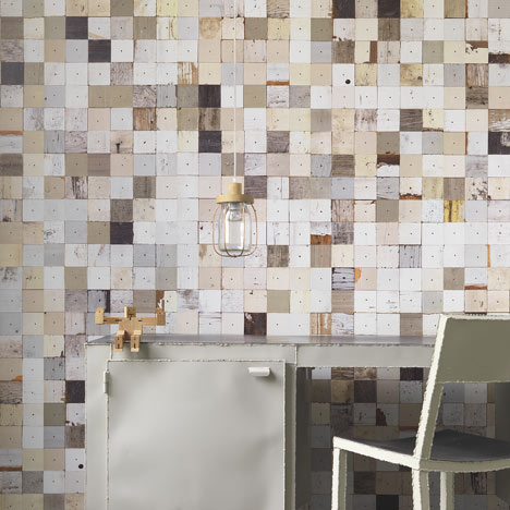 Scrapwood Wallpaper 2 by Piet Hein Eek for NLXL