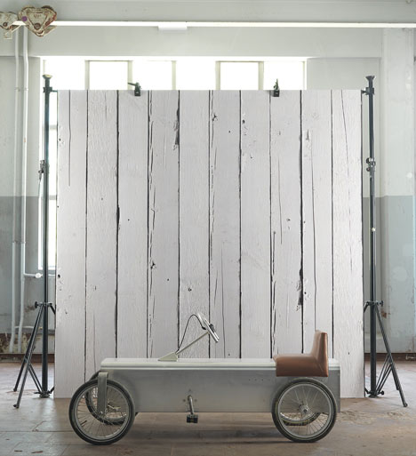 Scrapwood Wallpaper 2 by Piet Hein Eek