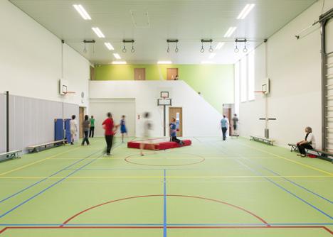 Secondary school Haarlem by KoningEllis Architecten